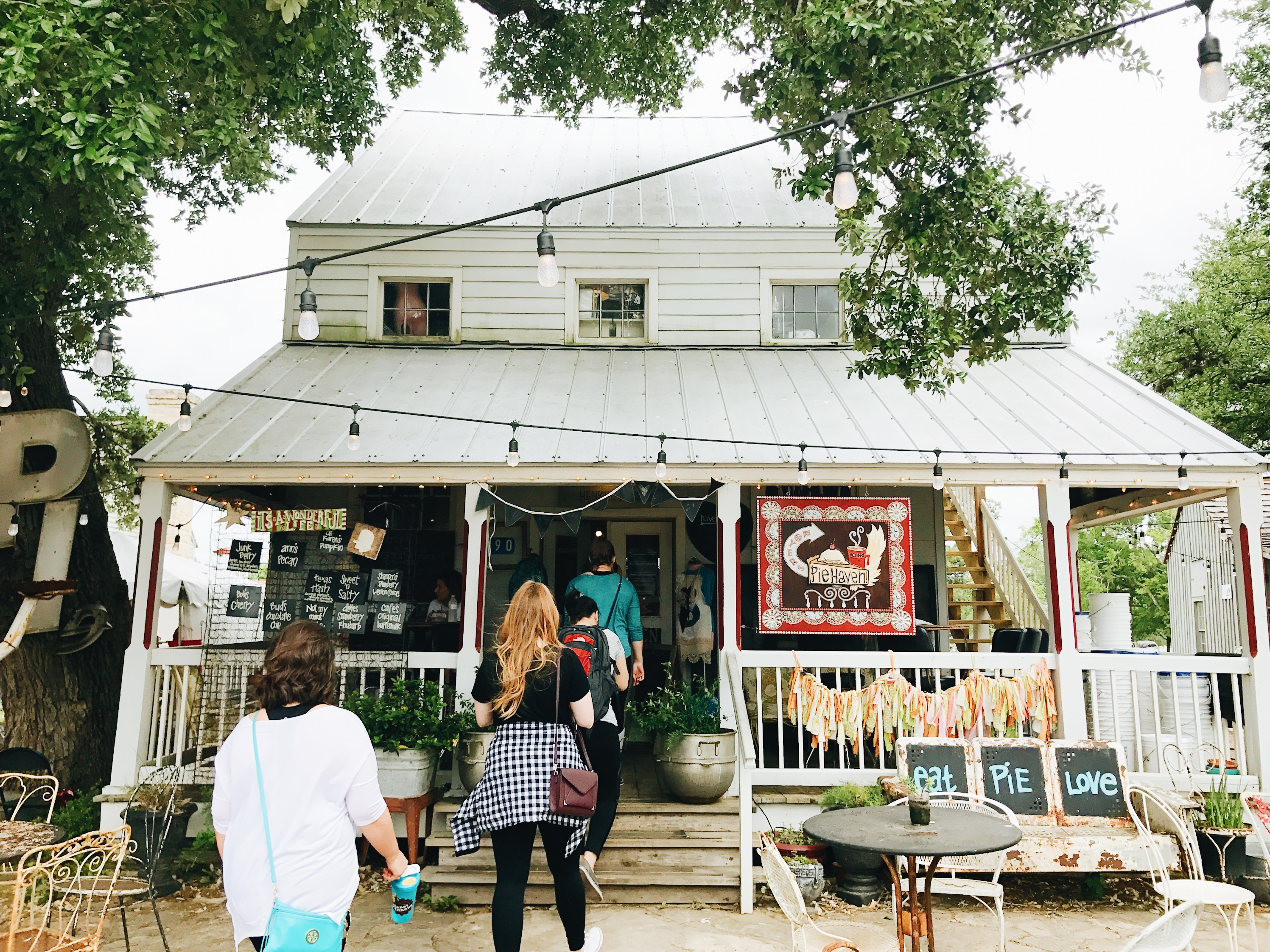 Thrifting in Round Top, Texas